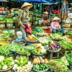 Kleurrijke markt.