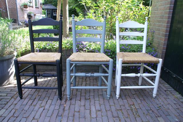 Verwonderend stoelen - Brocante en Aanverwante AO-62